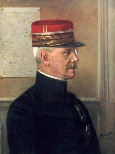 Michel-Joseph Maunoury, French First World War General--Giclee Print