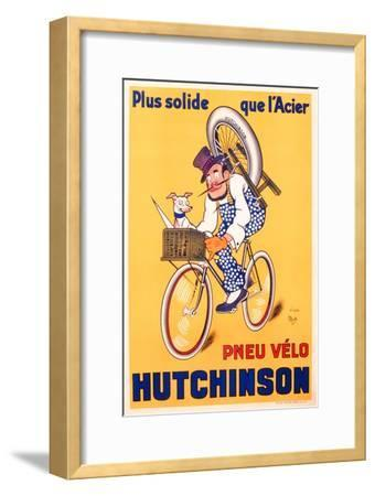 Advertisement for Hutchinson Tyres, c.1937