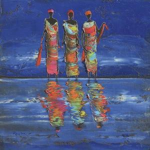 Midnight River 1 by Michel Rauscher