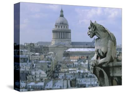 Gargoyle Looking Toward the Pantheon