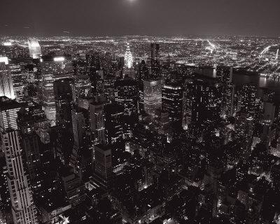 Manhattan and Queens
