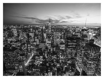 Manhattan Skyline with the Empire State Building, NYC