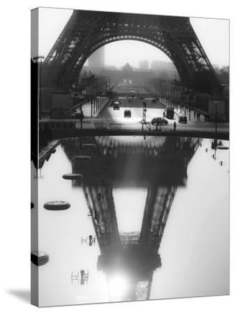 The Eiffel tower reflected, Paris