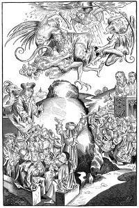 The Reign of Antichrist, 1493 by Michel Volgemuth
