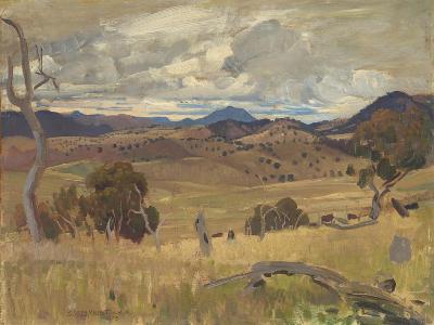 Michelago Landscape, 1923-George Washington Lambert-Giclee Print