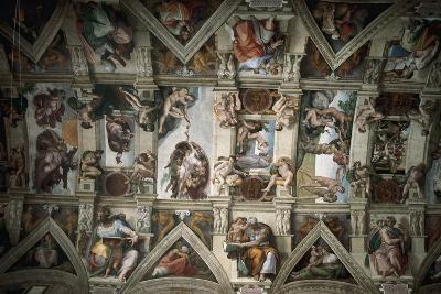 Michelangelo (1475-1564). Sistine Chapel (1508-1512). Ceiling--Giclee Print