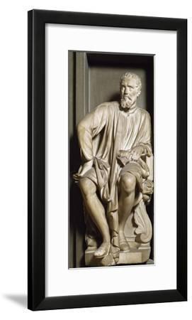 Michelangelo, 1635, Marble Statue-Antonio Novelli-Framed Giclee Print