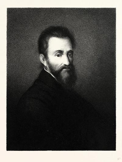 Michelangelo Buonaroti--Giclee Print
