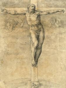 Christ on the Cross, Around 1541 by Michelangelo Buonarroti