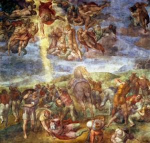 Conversion of St. Paul by Michelangelo Buonarroti