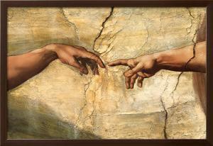 Creation of Adam, c.1510 by Michelangelo Buonarroti