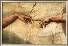 The Sistine Chapel; Ceiling Frescos after Restoration, the Prophet Daniel-Michelangelo Buonarroti-Giclee Print