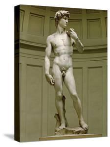 David: Frontal View by Michelangelo Buonarroti
