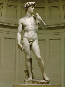 David: Frontal View by Michelangelo Buonarroti