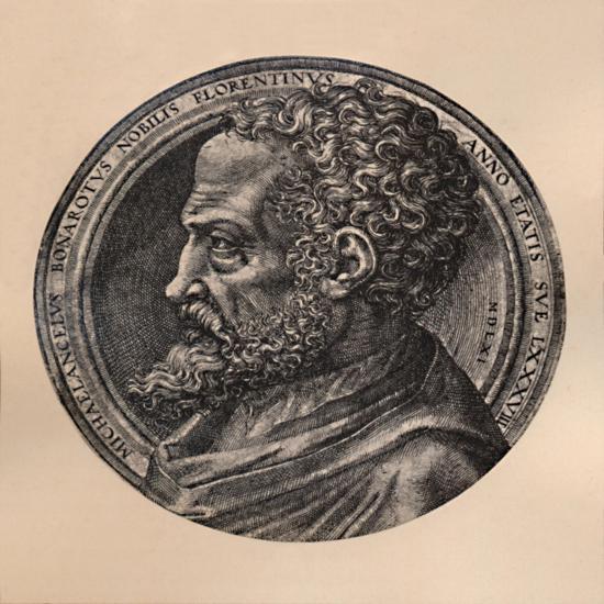 Michelangelo Buonarroti, Italian artist and architect, c16th century (1894)-Unknown-Giclee Print