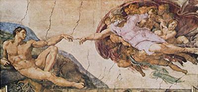 La Crezione di Adamo The Creation of Adam