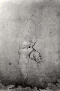 Male Nude by Michelangelo Buonarroti