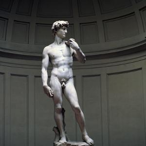 Michelangelo's David, 16th century. Artist: Michelangelo Buonarroti by Michelangelo Buonarroti