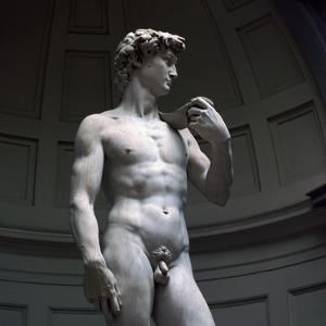 Michelangelos David by Michelangelo Buonarroti