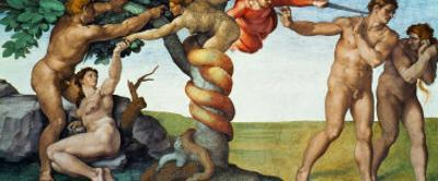 Original Sin, Ceiling Frescoes after Restoration