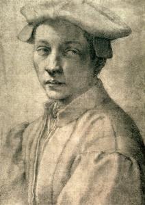 Portrait of Andrea Quaratesi, c.1532 by Michelangelo Buonarroti