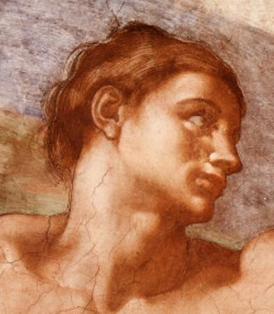 Sistine Chapel-Adam by Michelangelo Buonarroti