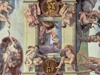 Sistine Chapel Ceiling : the Creation of Eve, 1510