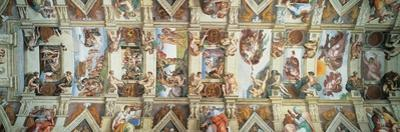 Sistine Chapel Ceiling, View of the Entire Vault
