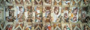 Sistine Chapel Ceiling, View of the Entire Vault by Michelangelo Buonarroti