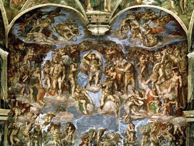 Sistine Chapel: the Last Judgement, 1538-41