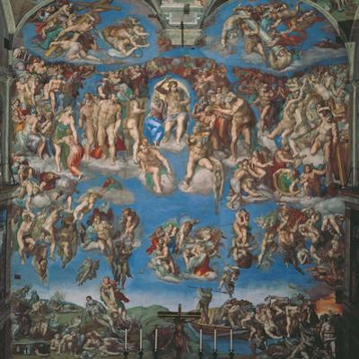 Sistine Chapel, the Last Judgment (Entire View)