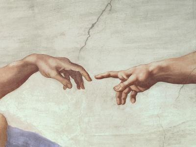 The Creation of Adam, c.1510 (detail)