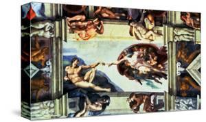 The Creation of Adam, c.1510 by Michelangelo Buonarroti