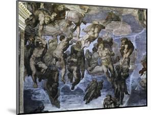 The, Detail Last Judgement by Michelangelo Buonarroti