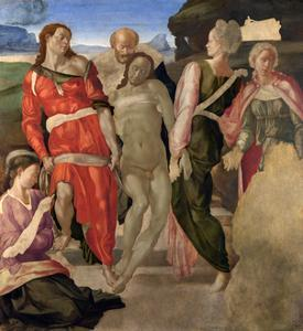 The Entombment of Christ, C. 1500 by Michelangelo Buonarroti