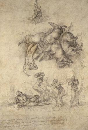 The Fall of Phaeton, 1533 by Michelangelo Buonarroti