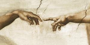Creation of Adam, 1512 - Detail by Michelangelo