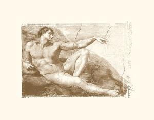 Creation of Adam (Adam detail) by Michelangelo