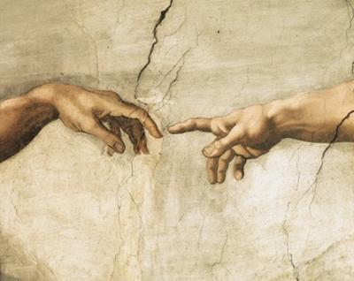 Creation of Adam (detail)