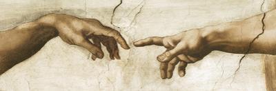 Creation of Adam - Focus by Michelangelo