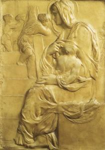 Madonna of Stairs by Michelangelo