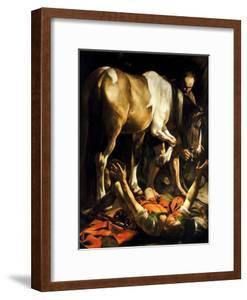 The Conversion of St. Paul, 1601 by Michelangelo Merisi da Caravaggio