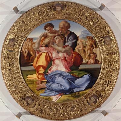 The Holy Family with Saint John (Tondo Doni), C. 1503-04