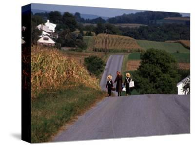 Amish Children, Lancaster County, PA