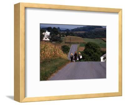 Amish Children, Lancaster County, PA