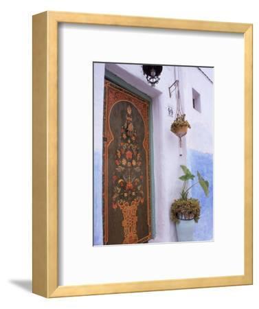 Door in Oudayas Casbah, Rabat, Morocco
