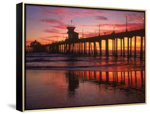 Huntington Beach Pier, CA by Michele Burgess