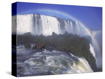 Rainbow Over Iguassu Falls, Brazil and Argentina