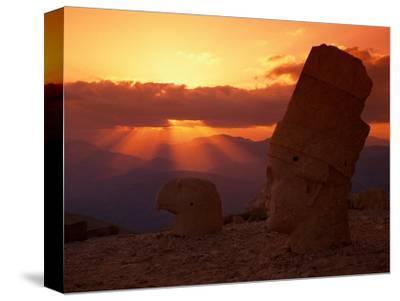 Sunset, Temple of King Antichus, Turkey