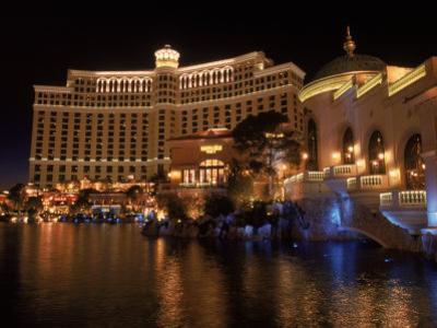 The Bellagio at Night, Las Vegas, NV